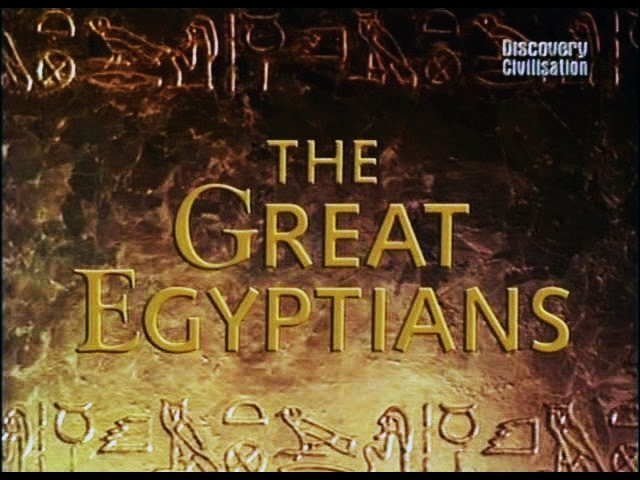 Discovery: Великие Египтяне. Загадка Тутанхамона