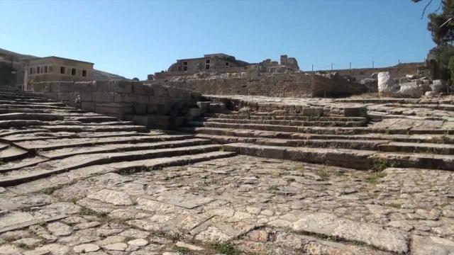 Руины минойской цивилизации