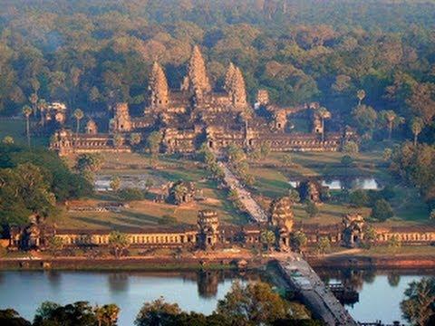 Тайны призраков -  Пропавший город Ангкор