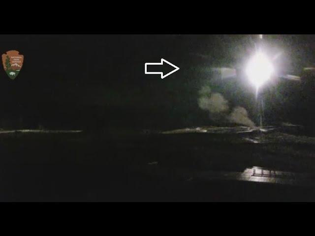 Видео НЛО над Йеллоустоном