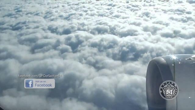 Видео НЛО сняли над штатом Индиана