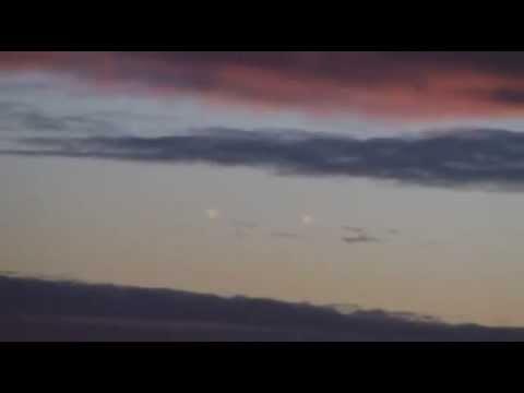 Два кубических НЛО над Россией