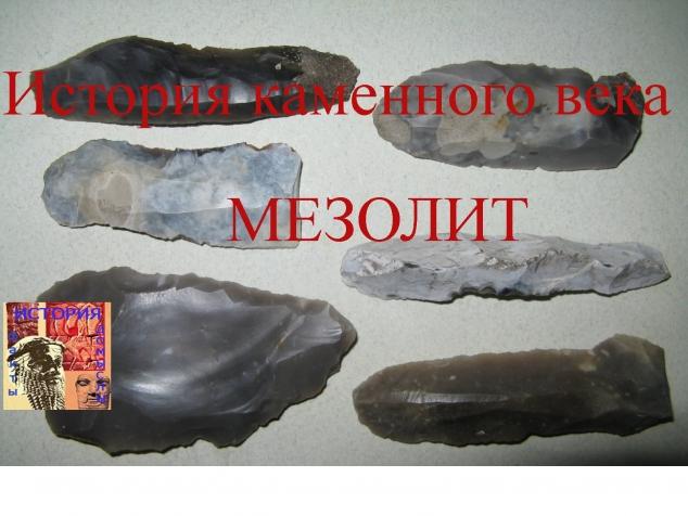 История Каменного Века. Мезолит