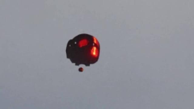 Видео НЛО над Монреалем