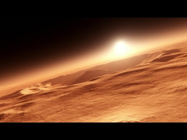 Марс - миллион лет назад