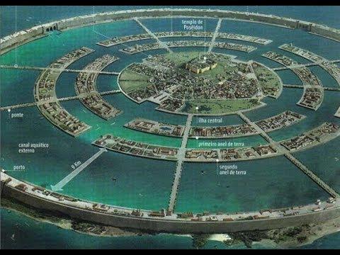 Атлантида - Тайна исчезнувшей цивилизации. Фантастические Истории.