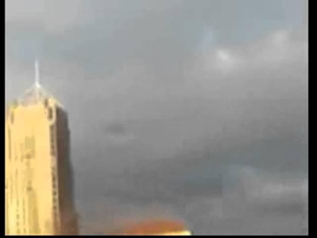 НЛО использует светомаскировку