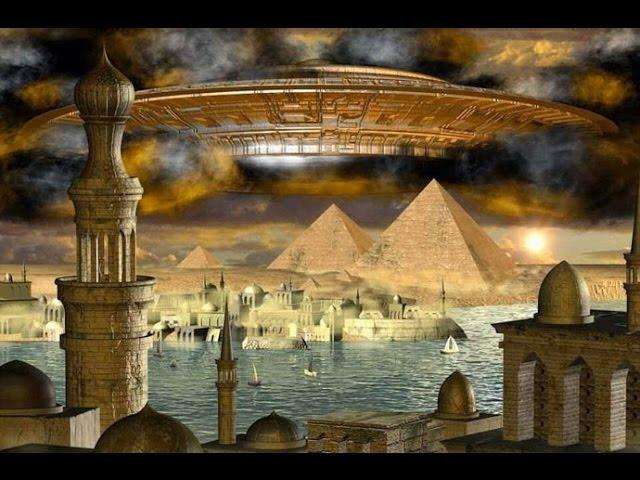 Технологии НЛО в древности! Древние знания фараонов и богов.