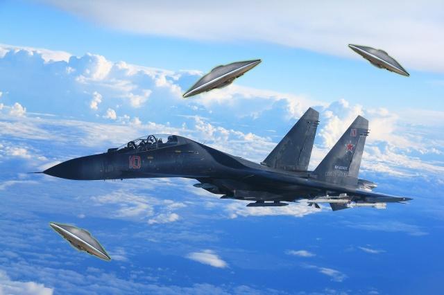 Рассекречено Минобороны РФ! Контакты и поединки ВВС России с НЛО