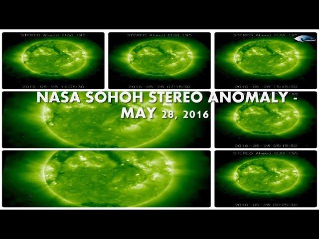 НЛО у Солнца. Обзор за 28 мая 2016