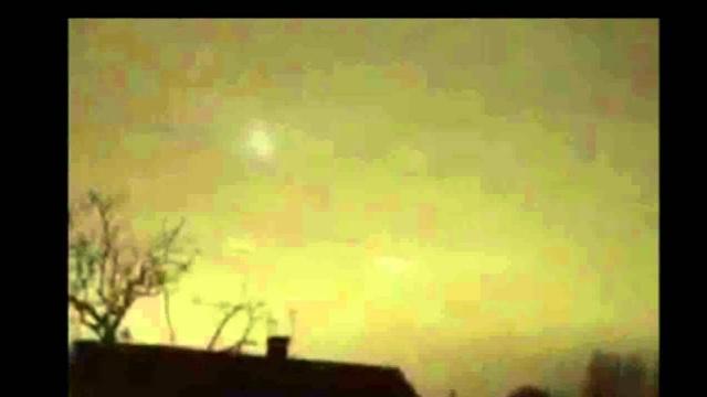Видео НЛО над Ливерпулем