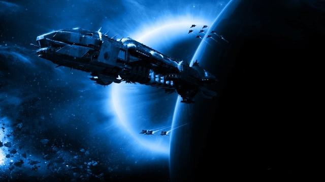 Секретные территории: Бледный огонь Вселенной