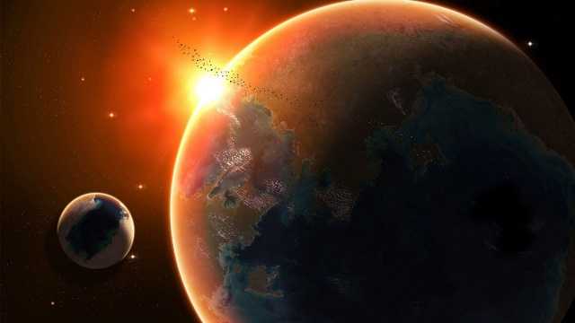 Вселенная  Меркурий и Венера