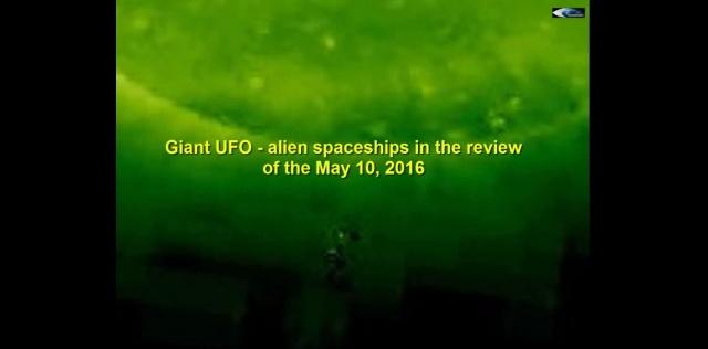 НЛО у Солнца. Обзор за 10 мая 2016