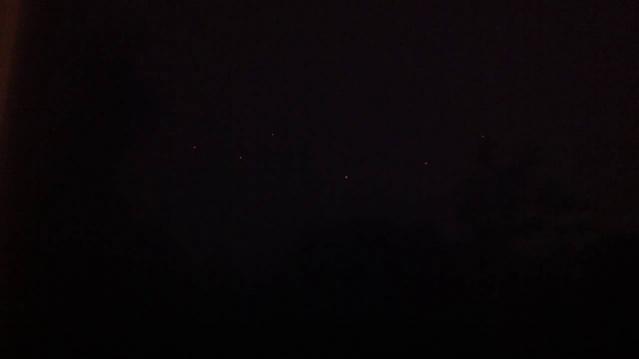 НЛО следили за торнадо в Оклахоме (Второе видео)