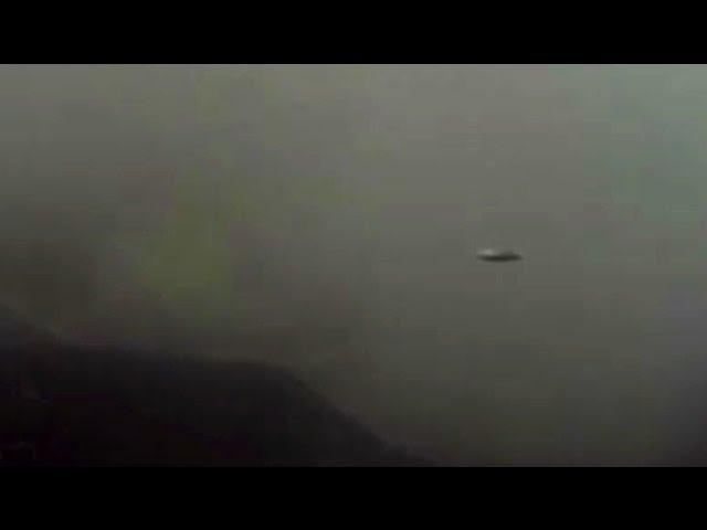 UFO over Volcano? - April 18, 2013