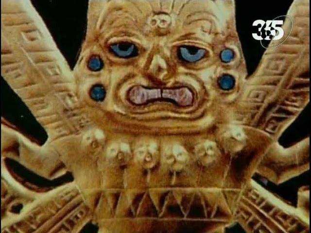 Уникальные артефакты Перу. Сокровища древнего захоронения.