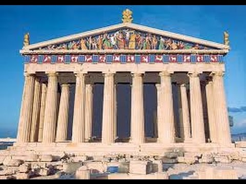 Афины - древний город. Затерянные миры