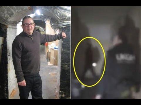 Видео призрака на заброшенной базе британских ВВС