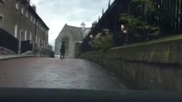 Призрак переходит дорогу
