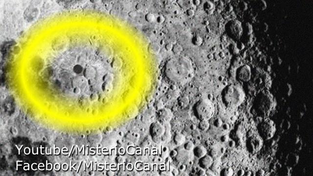 Видео НЛО возле Луны