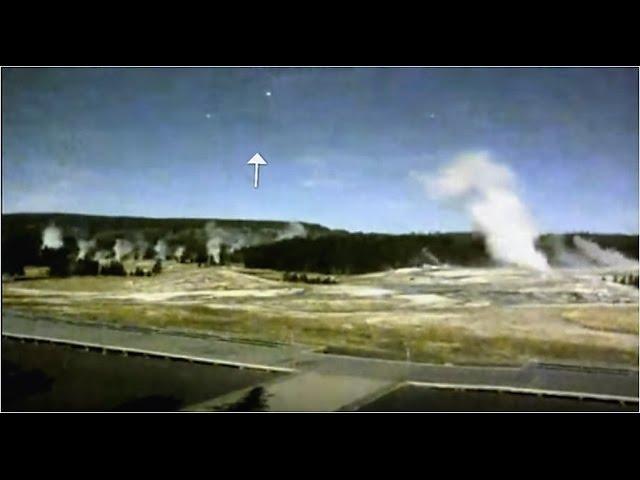Несколько НЛО возле Йеллоустоуна