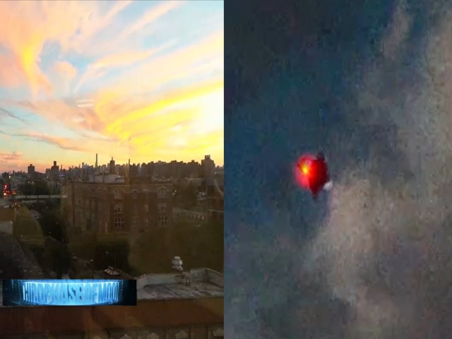 Шесть видео НЛО, снятых 25.09.2016