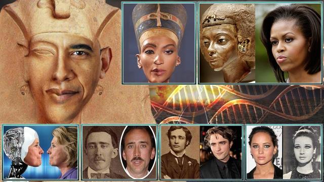 Альцион Плеяды 34-3: Гильотины FEMA, двойники-клоны знаменитостей, Эхнатон-Обама, Бейонсе