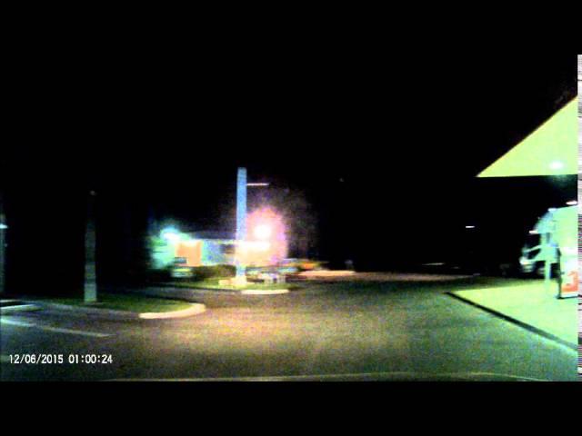 Видеорегистратор зафиксировал быстрый сигарообразный НЛО