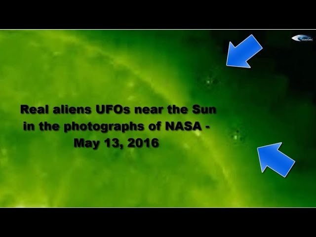 НЛО у Солнца. Обзор за 13 мая 2016