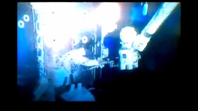 Мимо МКС пролетел НЛО