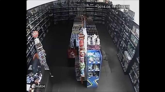 Привидение в магазине алкоголя в Чебоксарах
