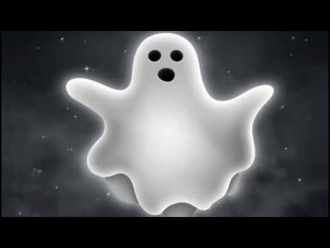 Забавный призрак на видео