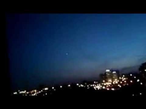 НЛО в Новосибирске видео