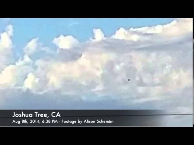 Видео НЛО в небе