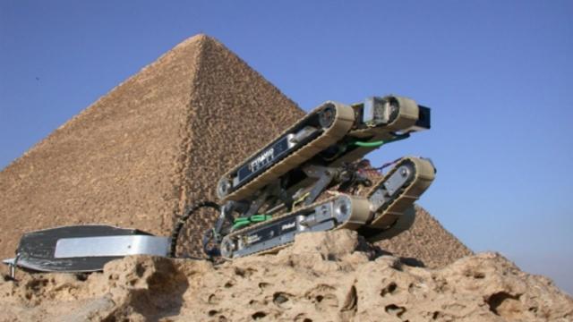 Замурованная тайна пирамид. Робот раскрыл тайны Египта и нашёл путь на небо