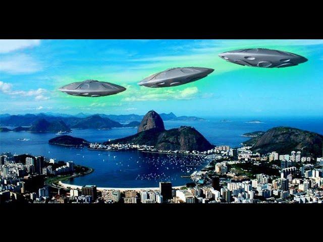 Странные НЛО над Рио-де-Жанейро