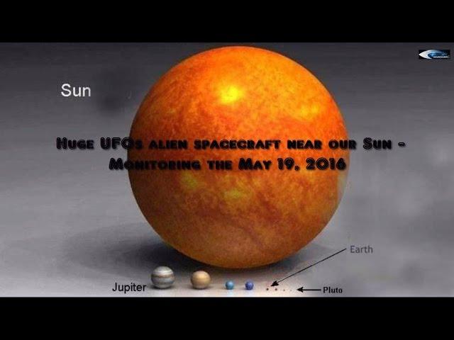 НЛО у Солнца. Обзор за 19 мая 2016