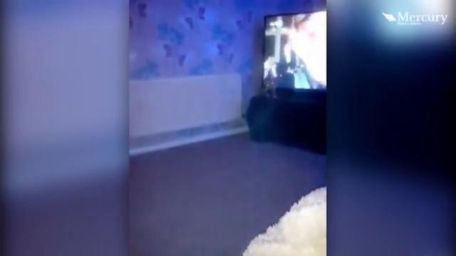 Призрак ребёнка на видео