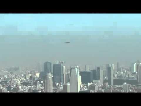 Видео НЛО над Токио