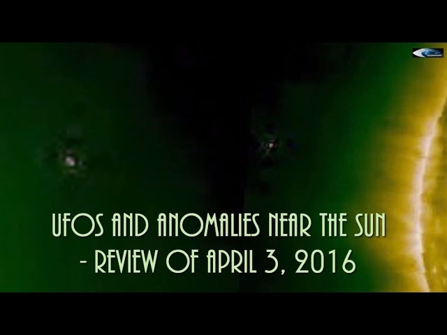 НЛО у Солнца 3 марта 2016
