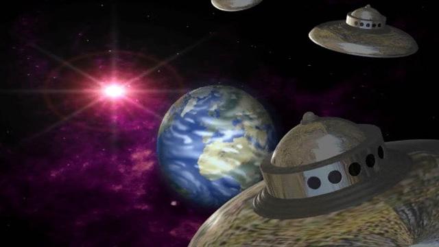 """НЛО угрожают Земле! Операция """"Летающая тарелка"""" началась! Космические корабли пришельцев на прицеле"""