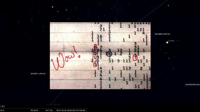 НЛО маскировалось под звезду Альнасл