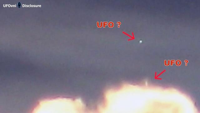 Видео НЛО над Бельгией