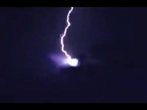 В НЛО бьёт молния