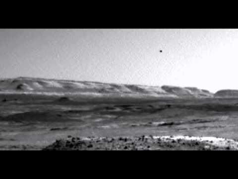 Видео НЛО на Марсе