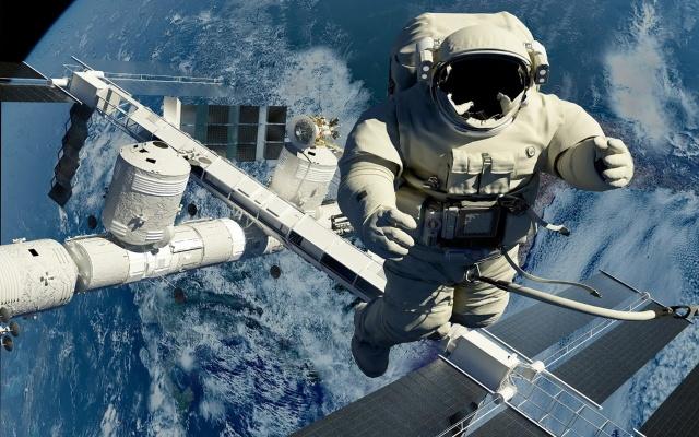 Падение неуправляемой космической станции. Космический корабль Салют 7