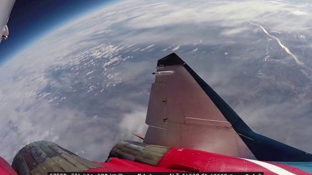 Миг 29 Полет в стратосферу
