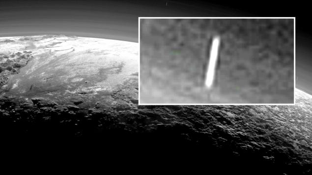 Сигарообразные объекты у Плутона