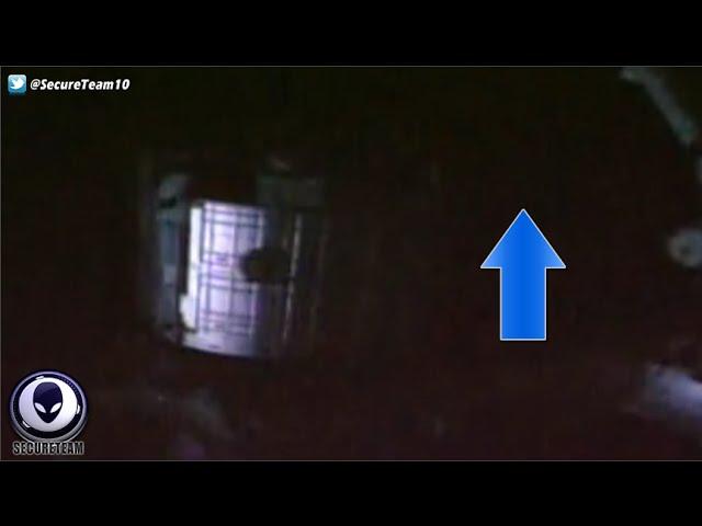 Видео стыковки НЛО и МКС